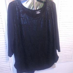 Pretty Black Knit Top